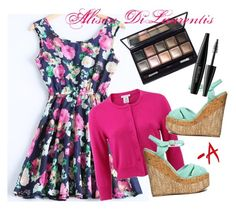 """""""Pretty Little Liars - Alison diLaurentis style"""" by manfrolla on Polyvore featuring moda, Oscar de la Renta, Qupid, By Terry e MAKE UP FOR EVER"""