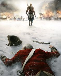 Assassin's Creed 3 by Two Dots , via Behance