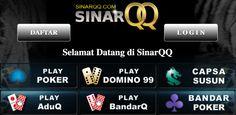 Selamat datang dan selamat bergabung di Agen Judi SinarQQ, Sinar QQ, Link Alternatif Daftar dan