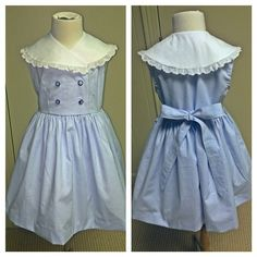 1950's pattern, vintage hand painted buttons...love!