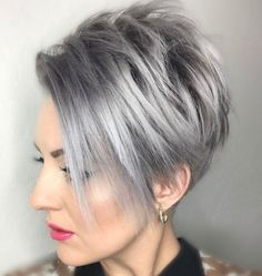 This Funky short pixie haircut with long bangs ideas 75 image is part from 100+ Funky Short Pixie Haircut with Long Bangs Ideas gallery and article, click read it bellow to see high resolutions quality image and another awesome image ideas.