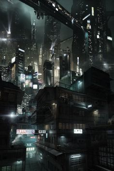 MTL Writer, daydreamer and resident cyberpunk. The brain that collates this visualgasm also assembles words into post-cyberpunk dystopia: my writing Check out my Ko-fi page! Cyberpunk City, Arte Cyberpunk, Futuristic City, Futuristic Architecture, Matte Painting, Future City, Sci Fi Stadt, Sci Fi City, Shadowrun