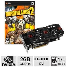 Asus GeForce GTX 660 Ti 2GB GDDR5 Video Car Bundle