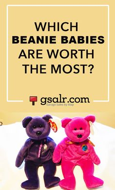 fade3284910 I always thought the Princess Diana Beanie Babies were worth the most