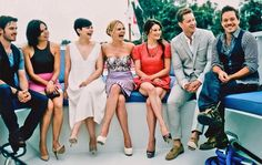 Once Upon A Time cast-I love all their individual reactions to.whatever Michael Raymond-James did/said Best Tv Shows, Best Shows Ever, Favorite Tv Shows, Favorite Things, Once Upon A Time, Outlaw Queen, Movies Showing, Movies And Tv Shows, Michael Raymond James