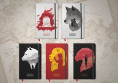Special Edition Game of Thrones notebooks for Molskine #GoT #Moleskine