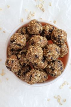 These Healthy Energy Bites are simple + delicious. They take about 5 minutes from start to finish and will certainly make snack time your favorite time of the day!