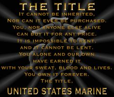 MARINE CORPS | Marine Corps League Volusia Detachement 658 Home Page - Marine Corps ...