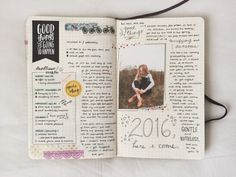 studyrose: my final bullet journal entry for 2015!! i haven't made any entries yet this year cause i keep trying to figure out how i want to go about my spreads, haha – hope you've all had a brilliant start to your year!