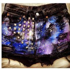 DIY galaxy pants