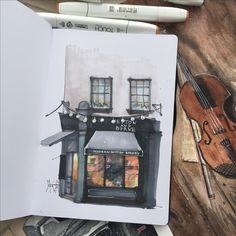 Sketch sketchbook markers