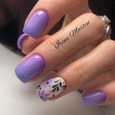 Fabulous Nails, Gorgeous Nails, Short Nail Manicure, Manicure Ideas, Cute Pink Nails, Gelish Nails, Elegant Nails, Minimalist Nails, Motif Floral