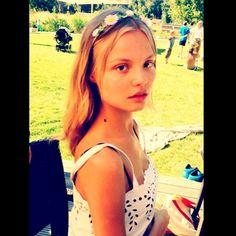 Magda Frąckowiak w Polsce - piknik w hotelu Mera w Sopocie, fot. Instagram