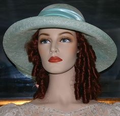 Flapper Hat Gatsby Hat Downton Abbey Hat - Miss Daisy - One of a Kind