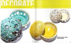 Love this Ceramic Tea Candle Jar from Masa Sasaki Ceramics at The Beehive Atlanta! (Got it!)