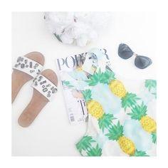 Dresses & Skirts - Pineapple Print Mini Shift Dress on Poshmark