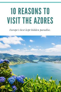 The Azores: Europe's best kept hidden paradise. From nature, food and wine, to thrilling adventures and natural hot springs, the Azores is a must to add to your bucket list. Vacation Places, Vacation Destinations, Dream Vacations, Places To Travel, Places To See, New Travel, Family Travel, Summer Travel, Saint Marin