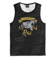 Майка Print Bar Год крысы — 1984