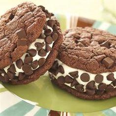 Chocolate Chunk Ice Cream Cookies