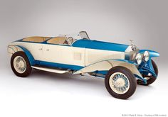 Rolls-Royce Phantom I Experimental Sports Tourer (1926) with lightweight body by distinguished English coachbuilders Barker & Co (since 1710) photo by Pieter E Kemp coachbuild.com