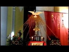 Altar For Pentecost With Images Church Altar