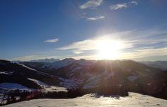 #Sonnenuntergang #Stimmung #Erichhütte #Dienten #Hochkönig Mountains, Nature, Travel, Mood, Sunset, Naturaleza, Viajes, Trips, Off Grid