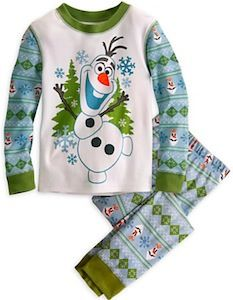 Frozen Olaf The Snowman Pajamas