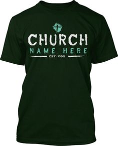 stencil brush church t shirt design - Church T Shirt Design Ideas