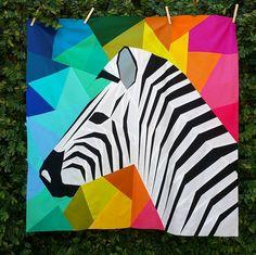 The Tartankiwi: Mega Zebra in Profile- A Pattern Release. xx