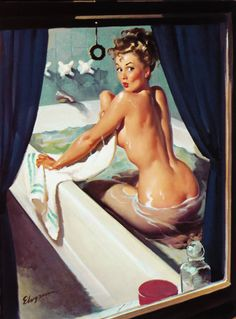 Gil Elvgren | Jeepers, Peepers                                                                                                                                                      More