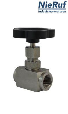 Nadelventil zur genauen Regulierung von Durchflussmengen innerhalb eines Rohrleitungssystems aus dem Hause NieRuf! http://www.nieruf-industriearmaturen.de/Nadelventil