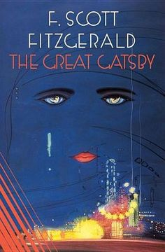 """The Great Gatsby by F. Scott Fitzgerald - The story of the fabulously wealthy Jay Gatsby and his love for the beautiful Daisy Buchanan, of lavish parties on Long Island at a time when, The New York Times remarked, """"gin was the national drink and sex the national obsession,"""" it is an exquisitely crafted tale of America in the 1920s that resonates with the power of myth. (Bilbary Town Library: Good for Readers, Good for Libraries)"""