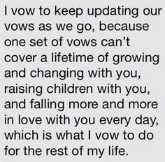 """Wedding vows from TV Shows - """"I vow to keep updating our vows"""" - Love quotes from How I Met Your Mother"""