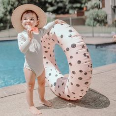 &SUNDAY pool tubes designed with style in mind Pool Floats For Kids, Pool Toys, Wide-brim Hat, Kids Hats, Instagram Feed, Sunday, Lights, Stylish, Summer