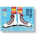 Rati riti ralla - 10 ulkomaan ikimerkkiä Postage Stamps, Finland, Stamps