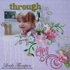 Flourish With A Bling Linda Thompson, Flourish, Projects To Try, Paper Crafts, Bling, Scrapbook, Design, Jewel, Tissue Paper Crafts