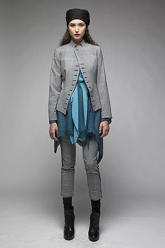 Taylor 'Follow the line' collection, Winter 2013 www.taylorboutique.co.nz Taylor Boutique - Sequence Jacket - Check