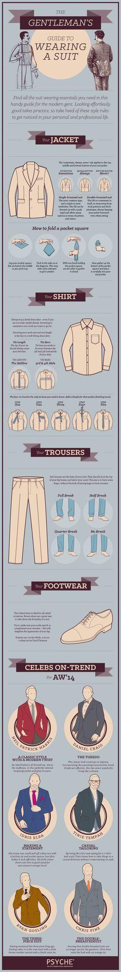 Gentleman's Guide to wearing a suit - Lifehacks