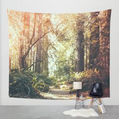 Buy Beautiful California Redwoods Wall Tapestry by Elena Kulikova. Worldwide shipping available at Society6.com. Just one of millions of high quality products available.