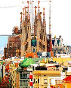 Barcelona architecture - La Sagrada Familia