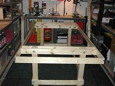 HO Slot Car Racing - Track & Table Construction