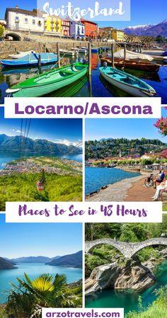 Top places to visit in Locarno / Ascona, the Italian part of Switzerland (Ticino, Lago Maggiore)