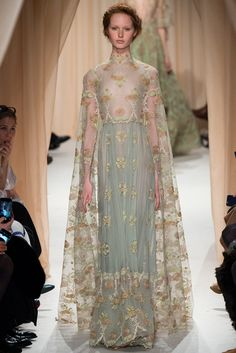 Valentino Spring 2015 Couture Fashion Show - Grace Simmons (Next)