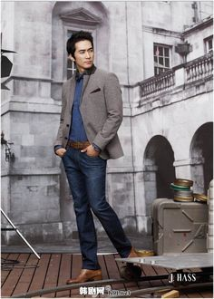 Song Seung Heon. Handsome as always.