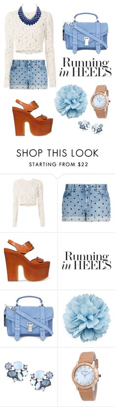 """""""Sin título #190"""" by belen-cool-look on Polyvore featuring moda, A.L.C., STELLA McCARTNEY, Proenza Schouler, Gucci, Lydell NYC, Bulgari y Adoriana"""