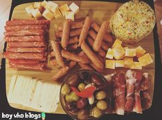 No cooking party app. A meat and cheese board to die for! Cooking App, Meat And Cheese, Cheese Ball, Some Recipe, Charcuterie, Eating Well, Grocery Store, Spice Things Up, Food And Drink