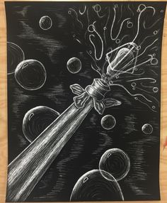 Scratchboard Art, Black Paper, Celestial, Outdoor, Outdoors, Outdoor Games, The Great Outdoors