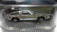 Hot Wheels Retro - Time Machine Hover Mode (2015) Back to the Future