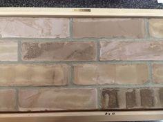 Brown oak brick