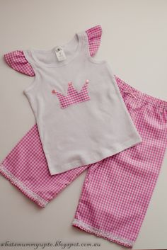 What's Mummy Up To ...: Super-Quick Pyjama step by step photo Tutorial ... And a sneak peak!